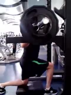 split squat semi good morning